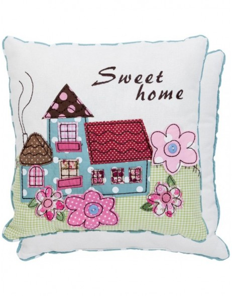 pillow - KG001.012 Clayre Eef - Sweet Home