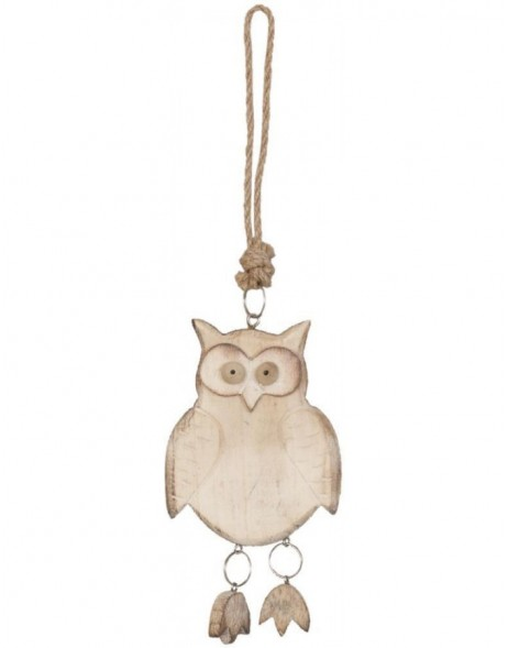 decoration owl 6H0756SCH Clayre Eef