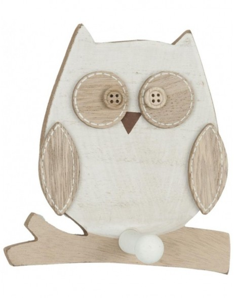 decoration owl 6H0853 Clayre Eef