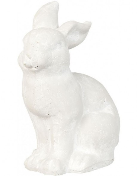 Rabbit decoration 21x14x27 cm stone