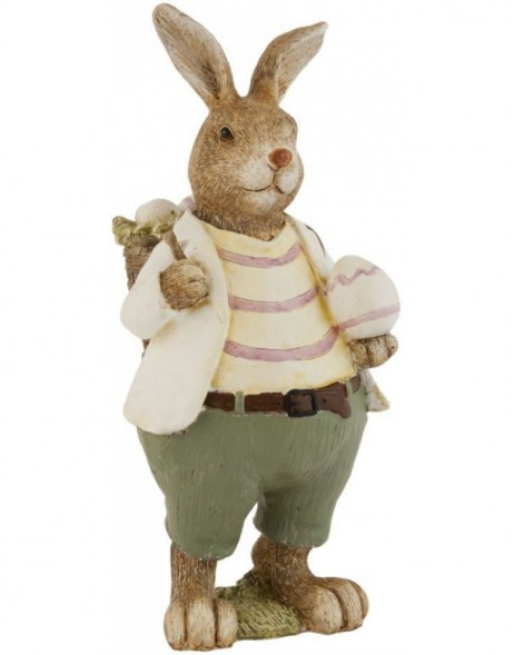 Rabbit decoration 22 cm poly resin