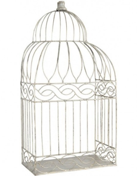 birdcage decoration grey - 6Y1379 Clayre Eef