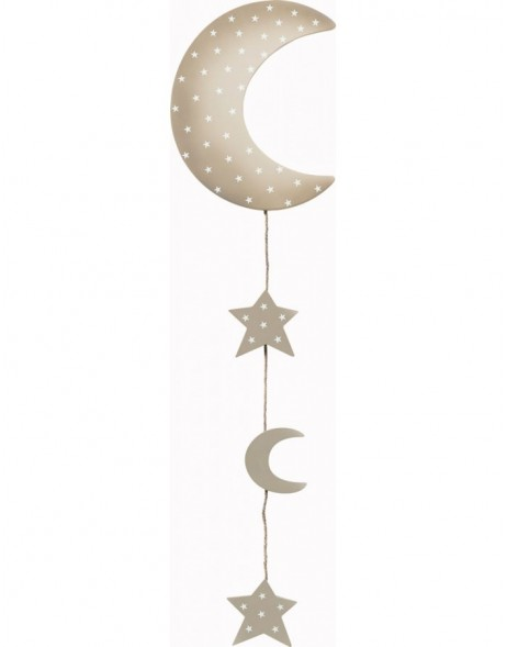 Design-Fotoseil Mond in the sky - L ca. 90cm