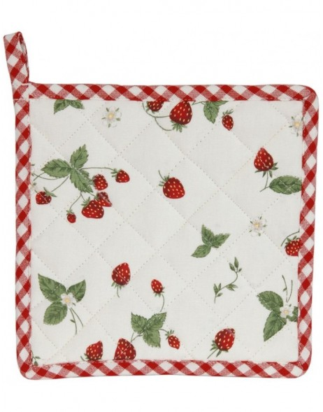 STRAWBERRY potholder red