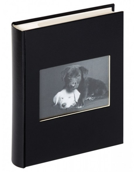slip-in photo album CHARM black for up to 200 photos 11,5 x 15,5 cm