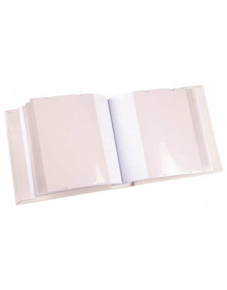 Slip-in album 6PA0023W white with appliques