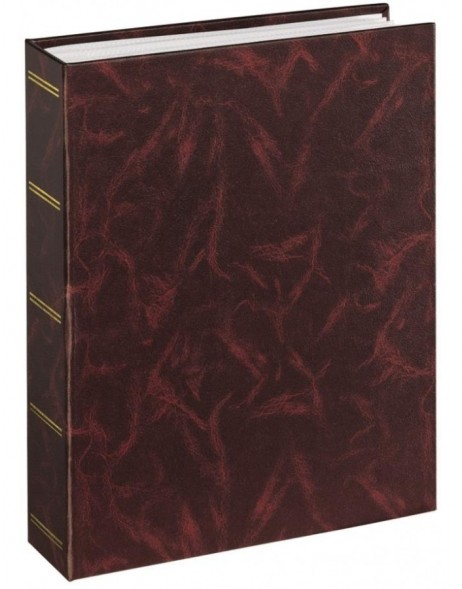Birmingham Slip-In Album, for 200 photos with a size of 10x15cm, burgundy