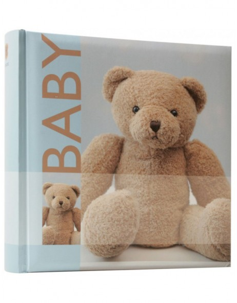 baby slip-in photo album BOBBI - blue