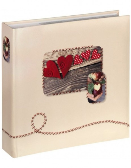 slip-in photo album ISNY 200 photos 10x15 cm red