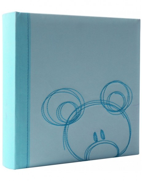slip-in photo album Sammy - 22x22 cm - blue