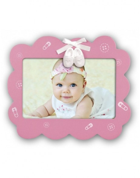 FRANCESCA baby photo frame girl 10x15 cm
