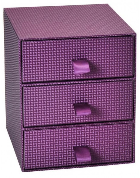 Purple small photo box Sirio