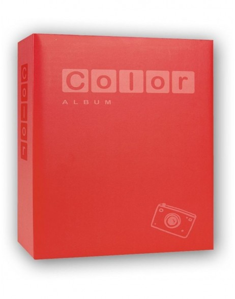 COLOR photo album 24x24 cm assorted