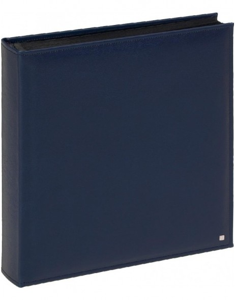 Photo Album Deluxe 28x30,5 cm blue and black pages