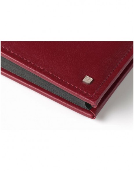 Photo Album Deluxe 28x30,5 cm red and black pages