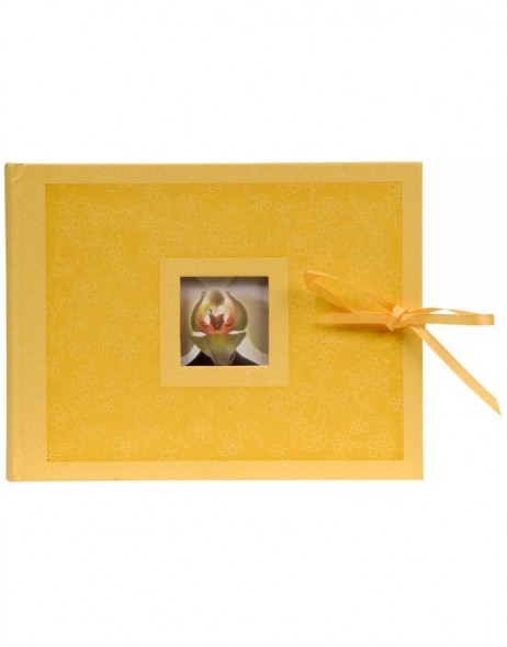 Photo Album II Krea Flowers yellow 22x16 cm