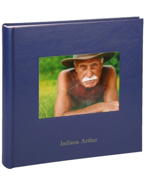 Photo album KOLARA dark blue with your picture + text