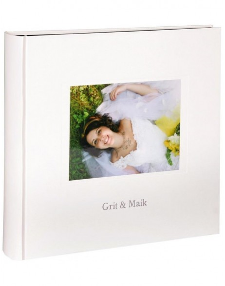 Personalised photo album Kolara black pages