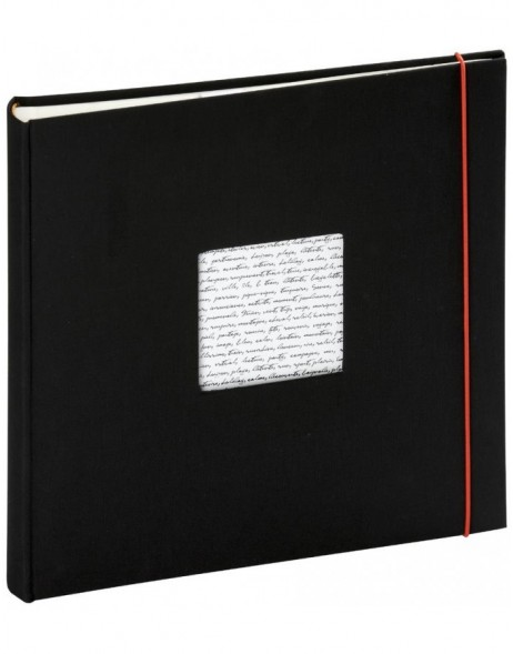 Photo album Linea 30x30 cm black