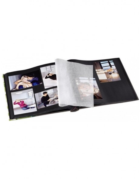 Relaxing Bookbound Album, 29x32 cm, 60 black pages