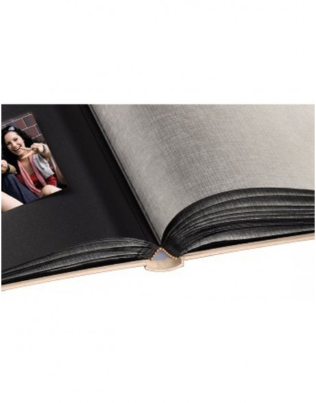 Rome Bookbound Album, 29x32 cm, 60 black pages