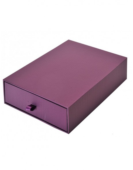 Purple photo box Sirio Din A4
