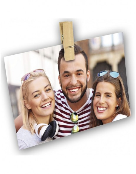 4 pieces wooden fotoclips