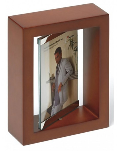 revolving photo frame for 2 pictures 4x6