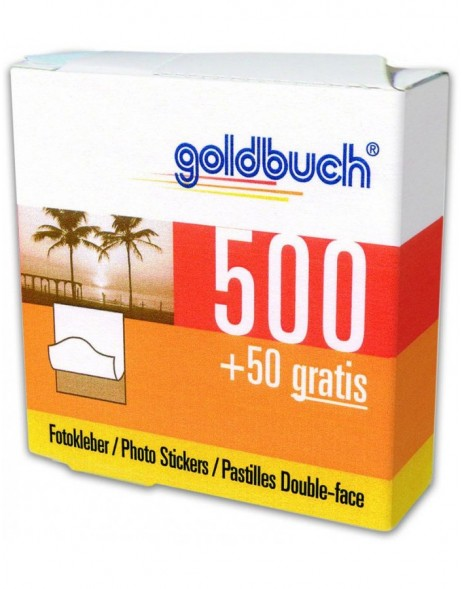 Photo stickers Goldbuch 550 pieces