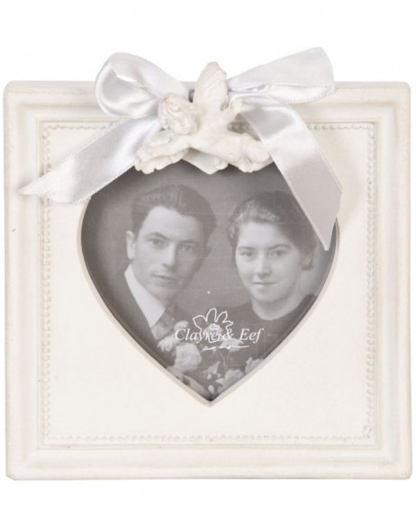 Photo frame 10x10 cm looping heart