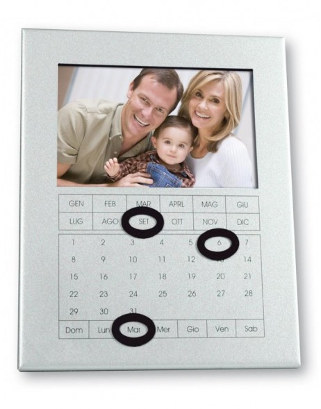 key holder for 1 photo - acrylic rectangle