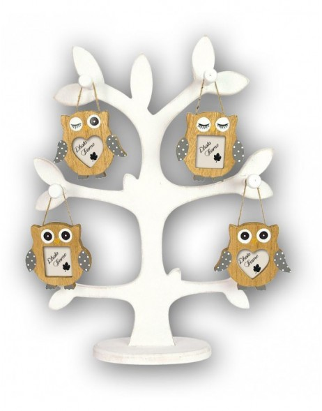 Photo frame picture frame Hibou Owl 5x5cm