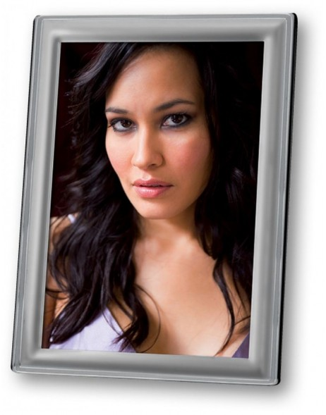 Monika photo frame 13x18 cm silver plated