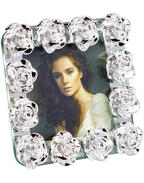 Photo Frame Rose glass frame 7.5x7.5 cm, 10x15 cm and 13x18 cm