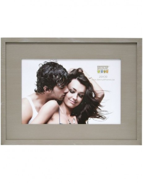 photo frame S67KS wooden mat 10x15 cm to 20x30 cm