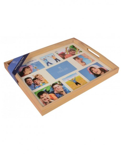 Picture tray in wood - 9 photos - natural