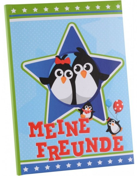 Freundebuch Pinguine