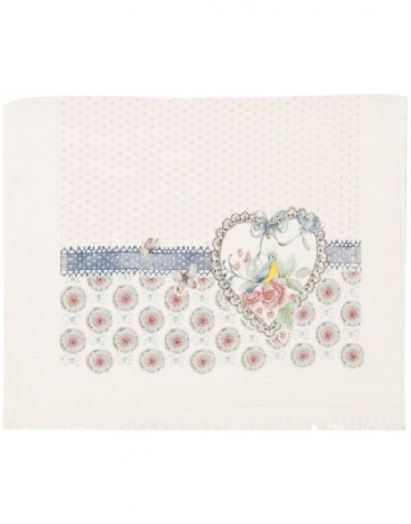 guest towel blue CT003 Clayre Eef