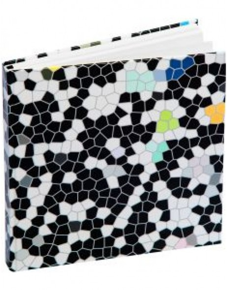 guest book Mosaik - black