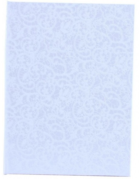 Guest book neutral Calabria in white