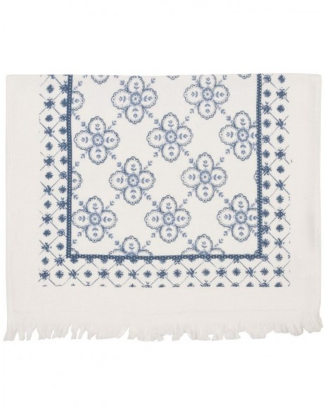 G�stetuch MIXED PATTERNS 40x60 cm blau