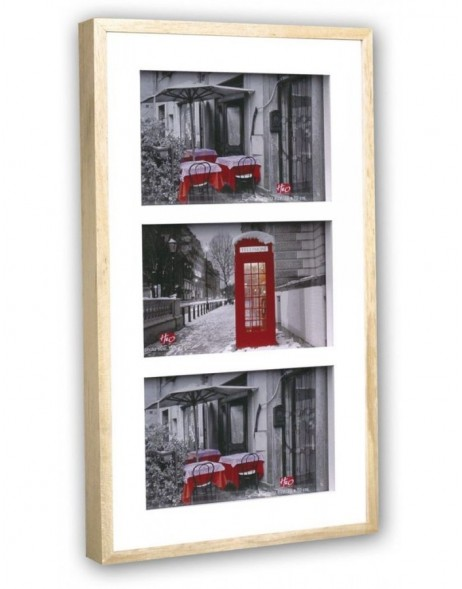 galler frame AREZZO 3 photos 10x15 cm or 13x18 cm