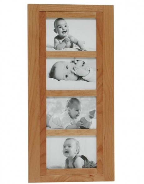Gallery frame Aulia 4 pictures 4x6 - alder