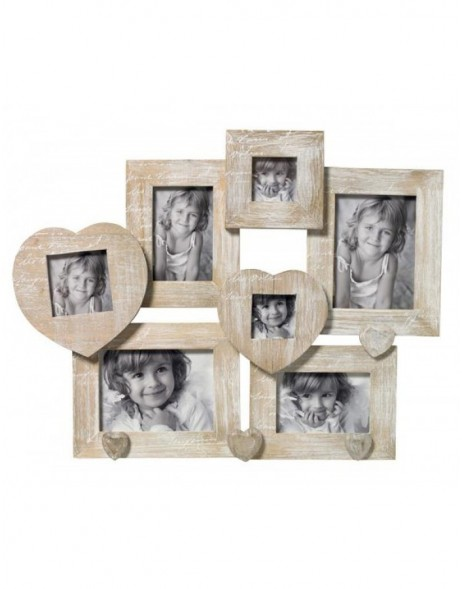 Gallery frame Le Coeur for 7 pictures