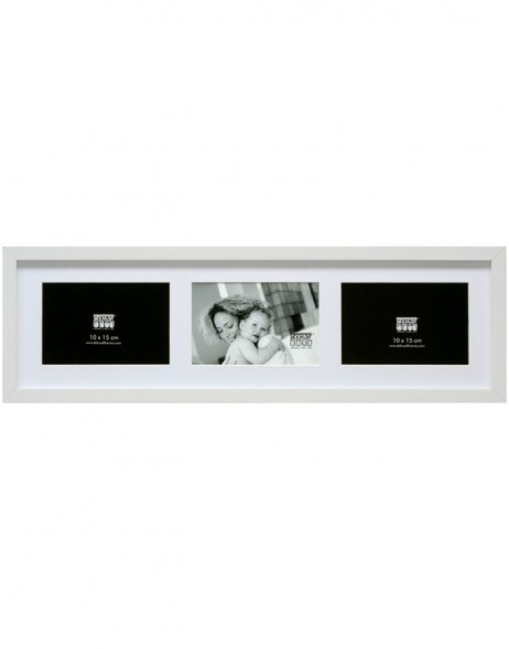 Wooden gallery frame S66K 10x15 cm, 13x18 cm and 15x20 cm - 2 to 4 photos