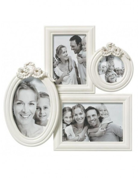 White gallery frame Variee for 4 photos