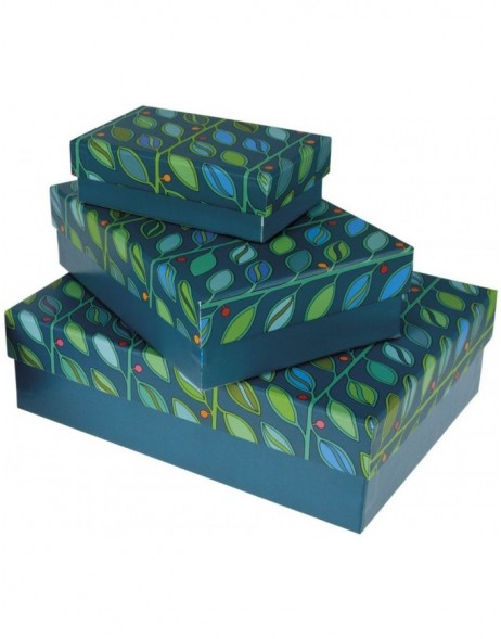 Gift Box Set 3 pieces green