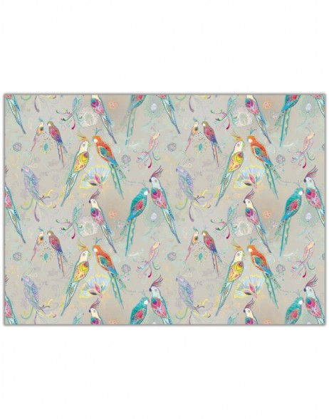 Gift wrap Silvermoon Parrot