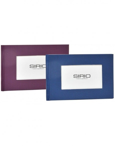 Mini Album SIRIO (blue or violet) 13x18 cm