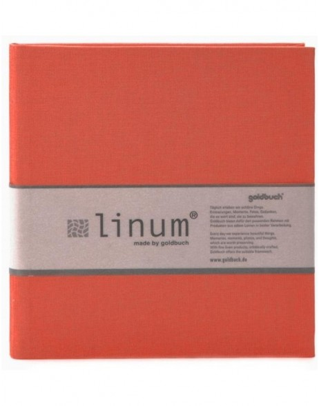 Goldbuch Poesiealbum LINUM in rot